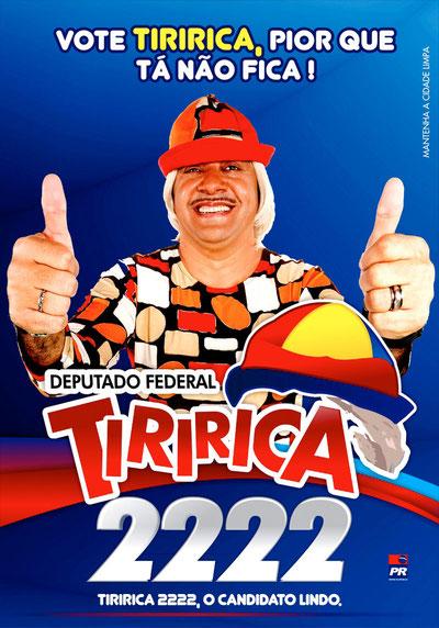 Tiririca Cartel Electoral