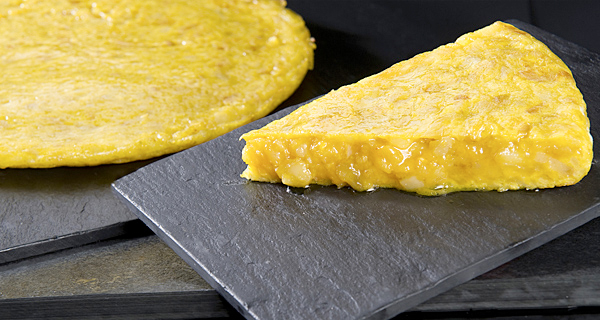 Tortilla de patata del Sagartoki tapas bar